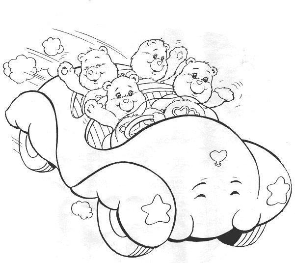 desenhos dos ursinhos carinhosos