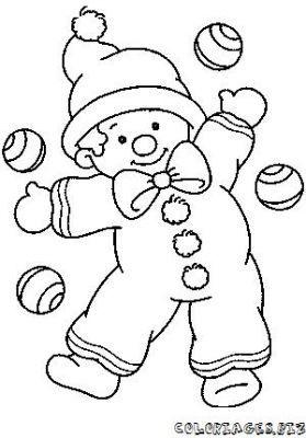 Desenhos Palhaco Paineis Infantil Lembrancinha Atividades Escolares