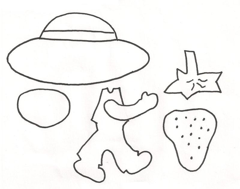 Da Moranguinho Desenhos Da Moranguinho Modelo De Lembrancinha Da