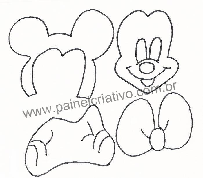 Modelo Lembrancinha Eva Aniversario Mine Mickey Baby  14