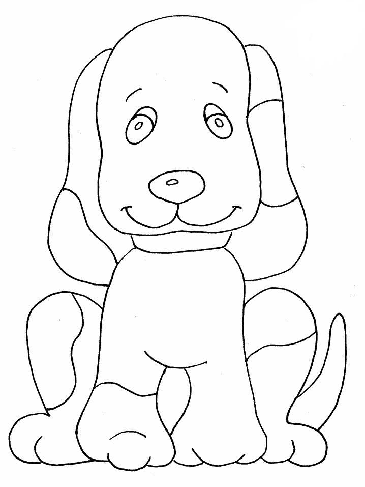 Cool Dog Coloring Pages