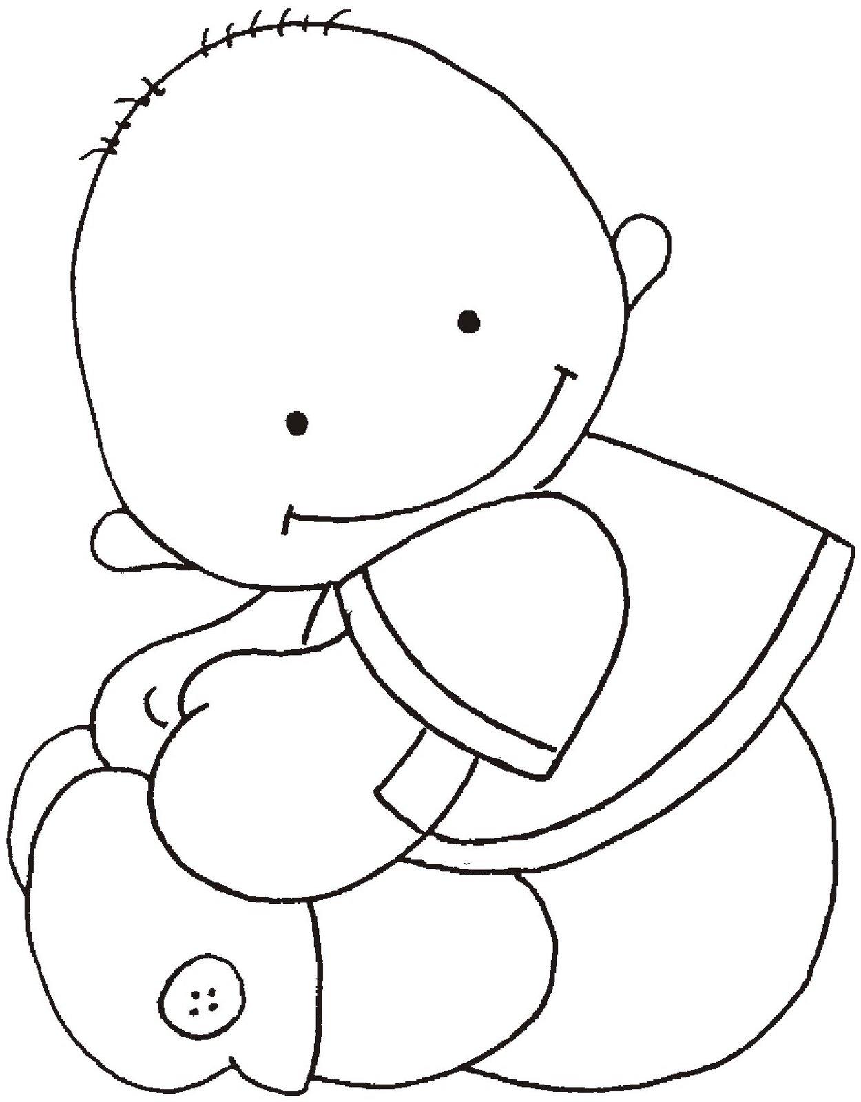 Riscos Desenhos Pintura Fraldas Bebes  17