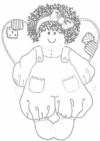 anjos Desenhos-anjinhos-pintura-colorir-natal-3