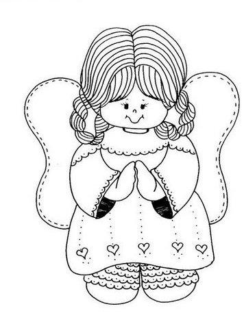anjos Desenhos-anjinhos-pintura-colorir-natal-5