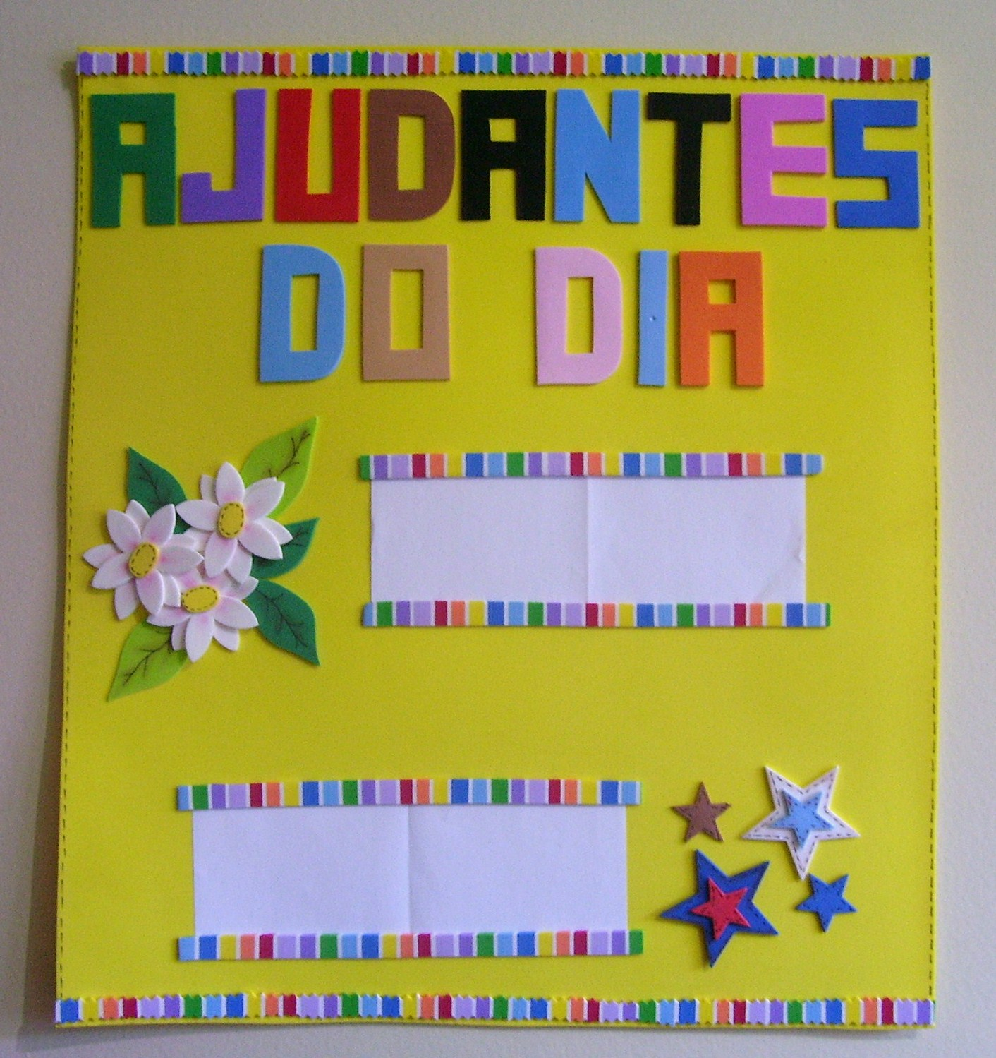 Do Mes Calendario Ajudante Do Dia Sala De Aula Em Eva  2