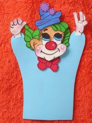 modelo fantoche palhaco eva com molde (1)