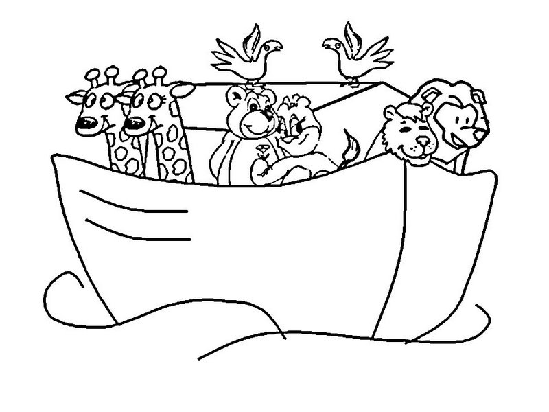 Veja Alguns Desenhos De Arca De No   Para Atividades Escolares  Clique