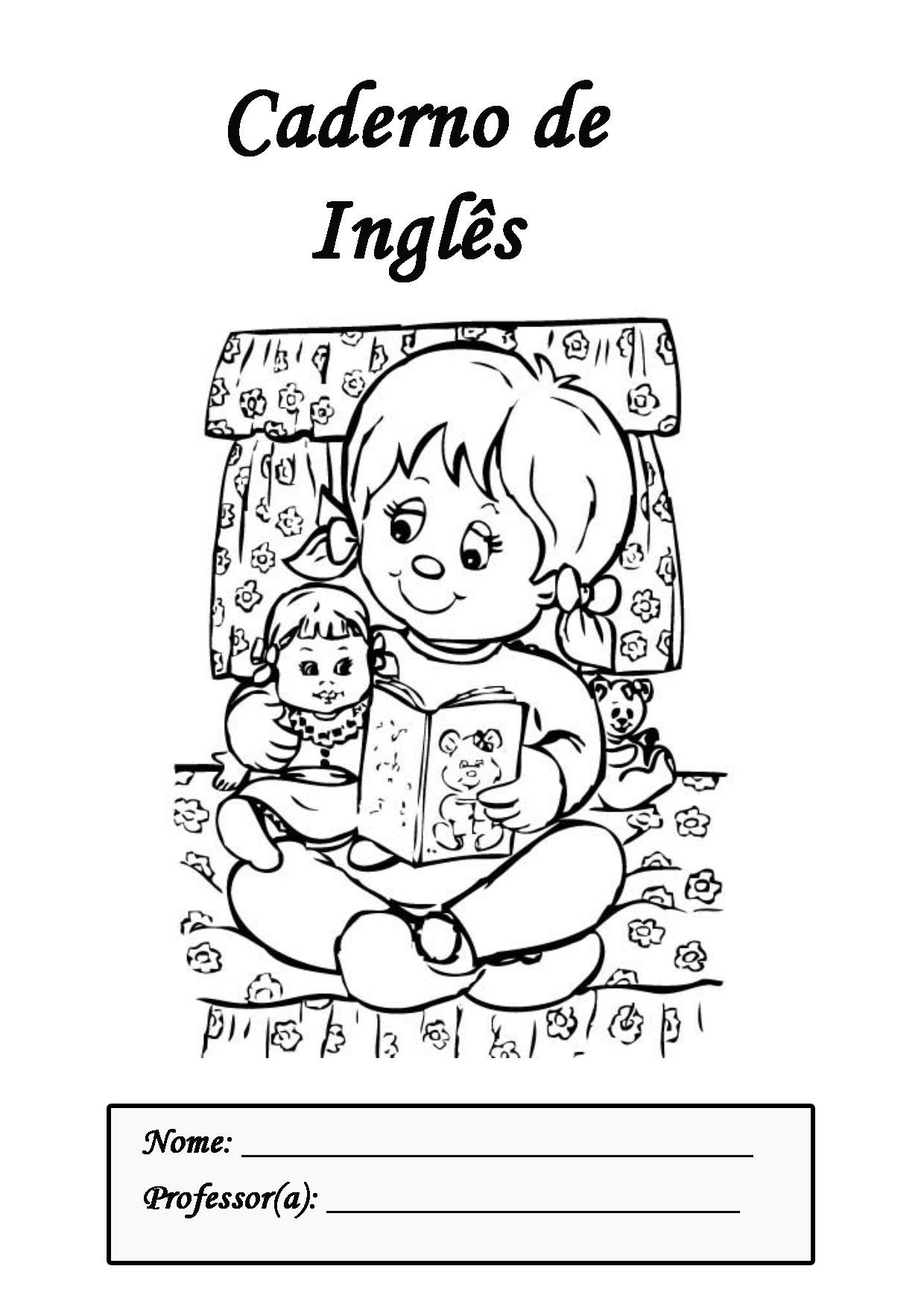 De Capa Para Caderno De Literatura  Artes  Tarefas  Ingl  S  Poemas E
