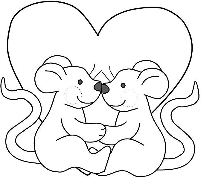 para entrar no clima do amor, veja que gracinha esses desenhos de