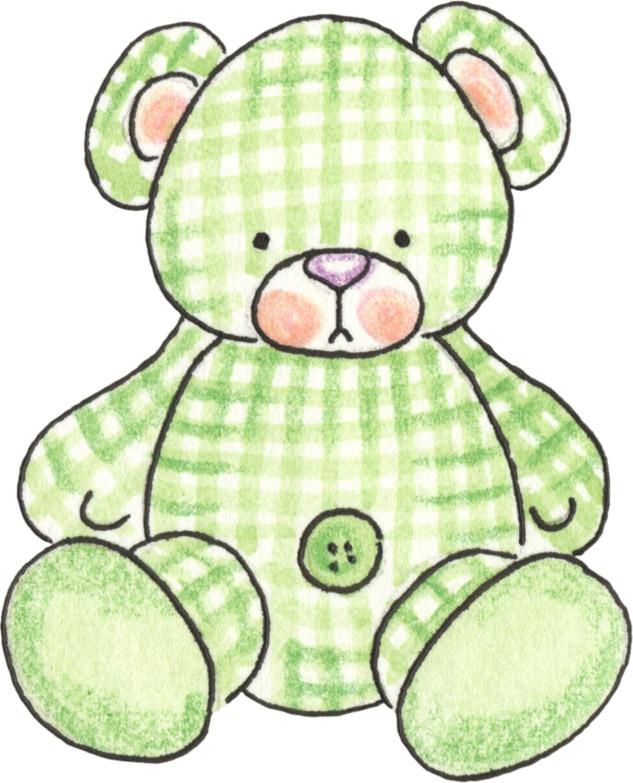 Desenhos para fraldas de ursinhos