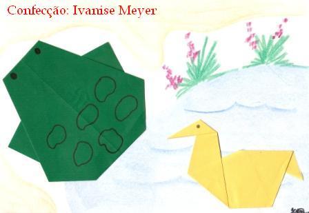moelo dobraduras papel  animais (3)