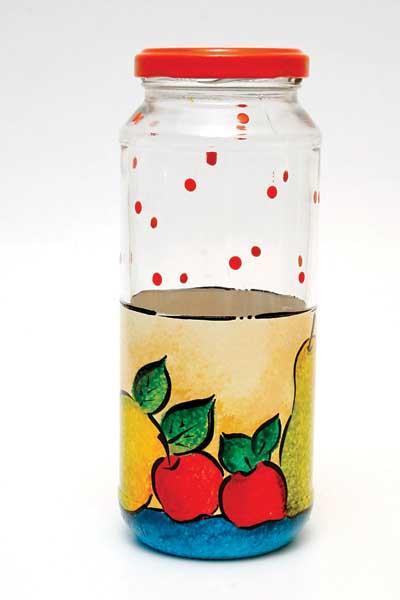 passo passo reciclagem potinhos vidro decorado (1)