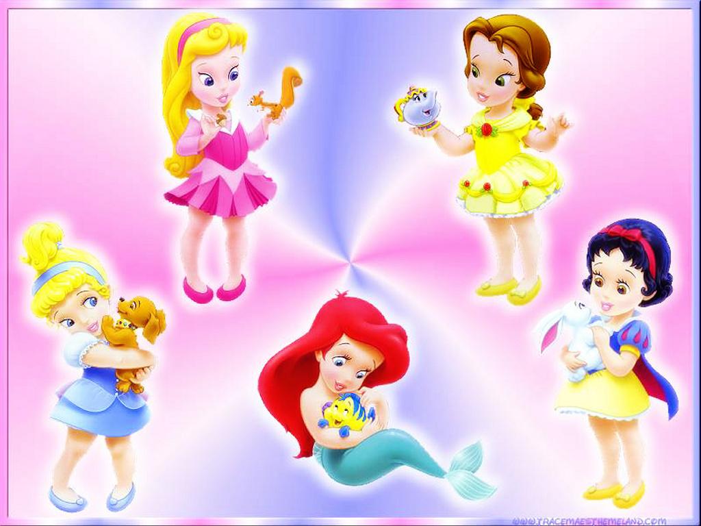 Desenhos Imprimir Princesas Baby Disney  7
