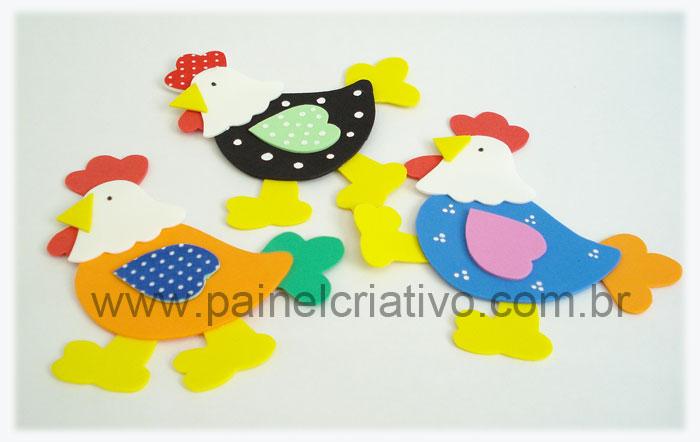 molde galinha eva decoracao cozinha (3)