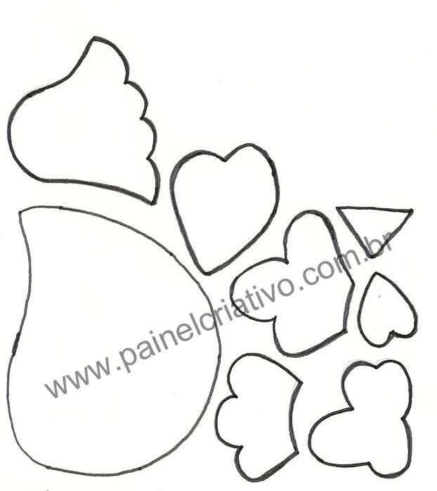 molde galinha eva decoracao cozinha (5)