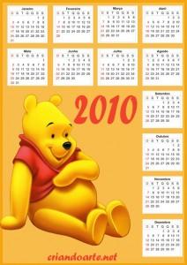 Modelo-de-Calendário-2010-ursinho-pooh