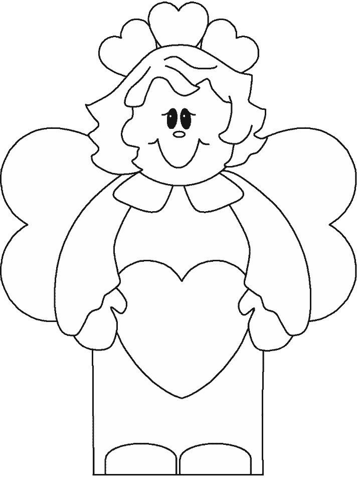 uma gracinha esses desenhos de anjinhos, é uma opção bacana para