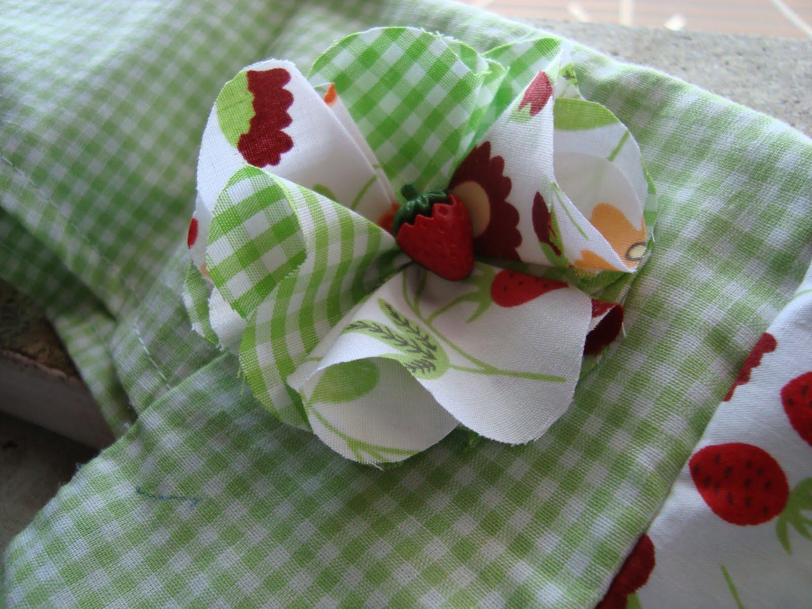 passo a passo flor de tecido painel criativo