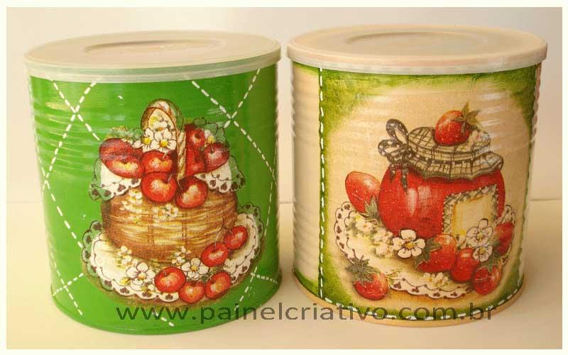 reciclagem latinha decoupage decoracao cozinha (3)