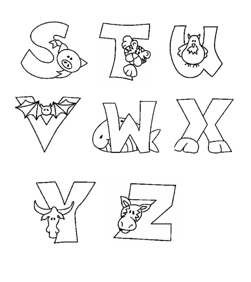 Excepcional Alfabeto dos Animais | Painel Criativo UO37