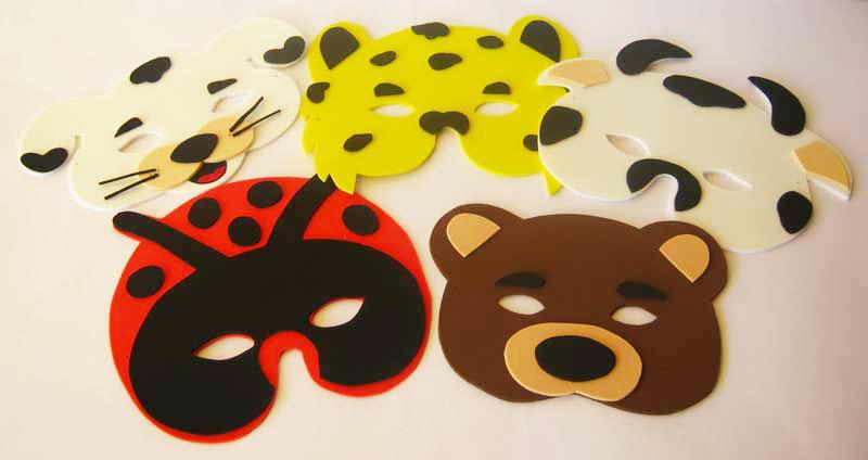 mascara carnaval animais eva (1)