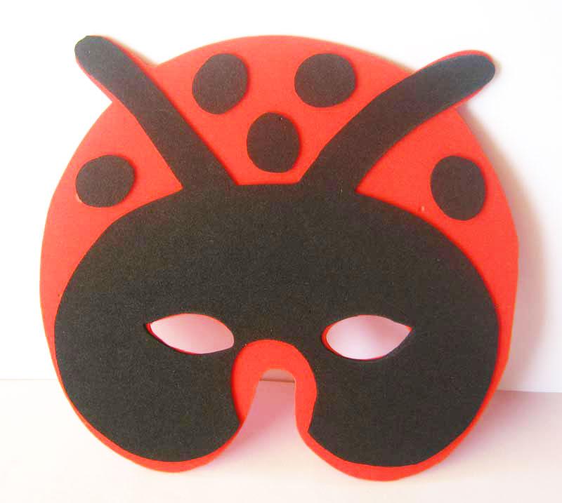 Máscaras dos Animais em Eva para o Carnaval