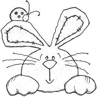 desenhos riscos colorir coelhinho pascoa (2)