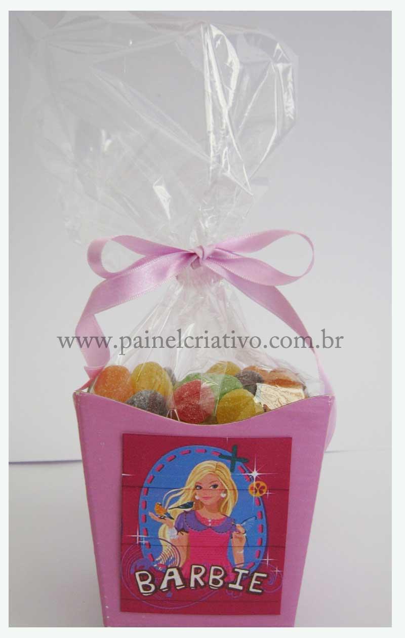 Modelo De Lembrancinha Para Anivers  Rio Da Barbie
