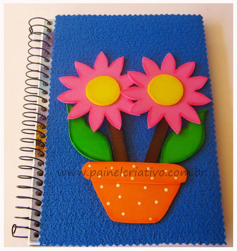 capa caderno agenda  escola eva menina (1)
