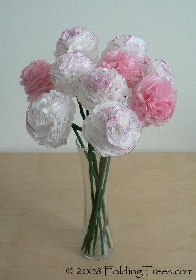 Materiais Papel De Seda  Tesoura  Clips De Papel  Arame Floral