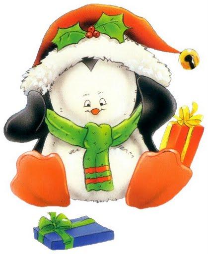 Decoupage: Desenhos Para O Natal