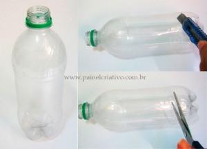 Como fazer porta guardanapo com garrafa pet passo a passo