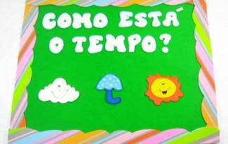 painel cartaz tempo decoracao sala de aula (7)