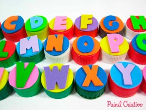 alfabeto movel tampinha garrafa pet sala de aula escola alfabetizacao (5)