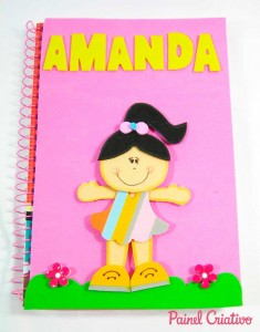 como fazer capa de caderno escolar menino menina eva (5)