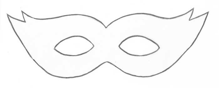 Moldes de mascara para carnaval - Imagui