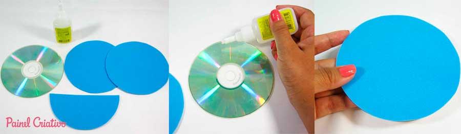 como fazer porta recado cd reciclagem eva (1)