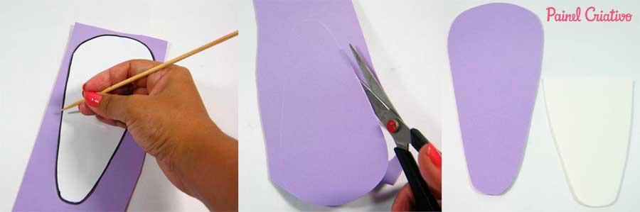 como fazer porta tesoura bichinho leaozinho caracol corujinha eva (5)