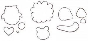 molde porta tesoura bichinho leaozinho caracol corujinha eva (8)