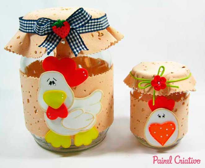 lembrancinha dia das maes potinho vidro decorado cozinha eva (1)