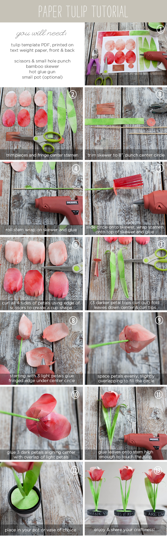 passo a passo vasinho flor papel tulipa lembrancinha dia das maes decoracao festa (2)