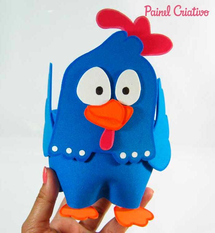 lembrancinha aniversario galinha pintadinha eva festa infantil porta guloseimas (1)