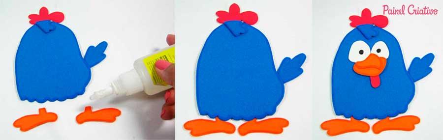 molde galinha eva pintadinha festa aniversario lembrancinha (13)