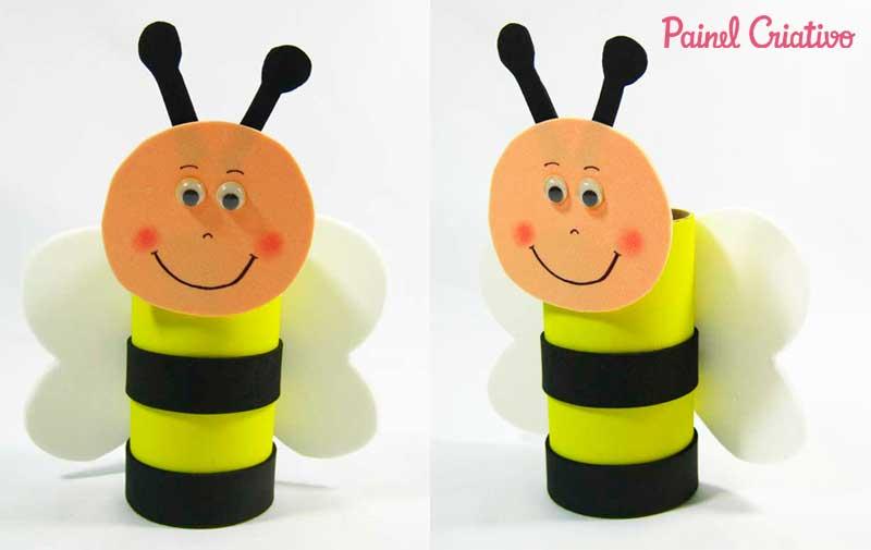 reciclagem bichinhos abelhinha atividades escolares crianca (2)