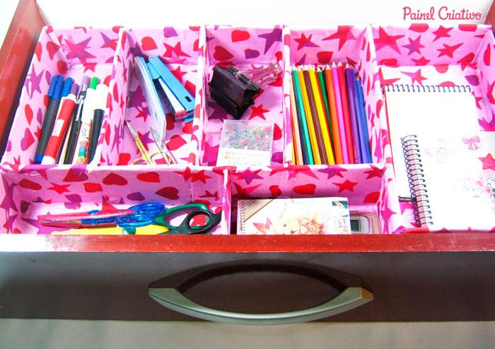 como fazer organizador gaveta escritorio atelie reciclado caixinha leite embalagem papelao (4)