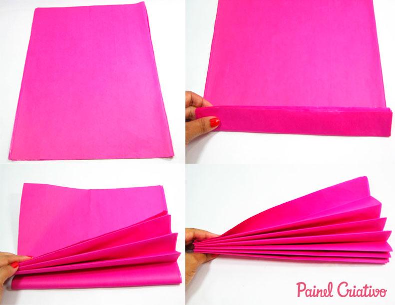 como fazer pompons papel de seda decoracao festa aniversario casamento batizado (1)