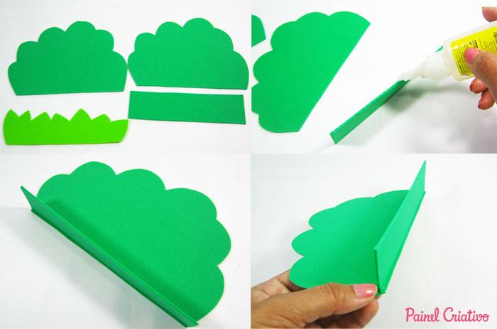 como fazer porta guardanapo festa aniversario bichinhos floresta safari eva (6)