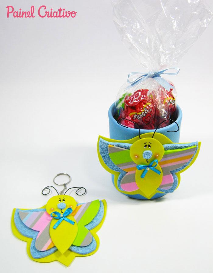 lembrancinha aniversario festa infantil jardim encantado borboletinha eva porta guloseimas chaveiro (6)