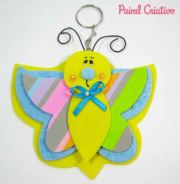 lembrancinha aniversario festa infantil jardim encantado borboletinha eva porta guloseimas chaveiro (7)