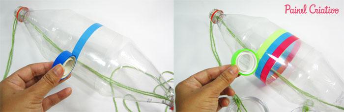 como fazer brinquedo criancas vai e vem garrafa pet reciclagem divertida (3)